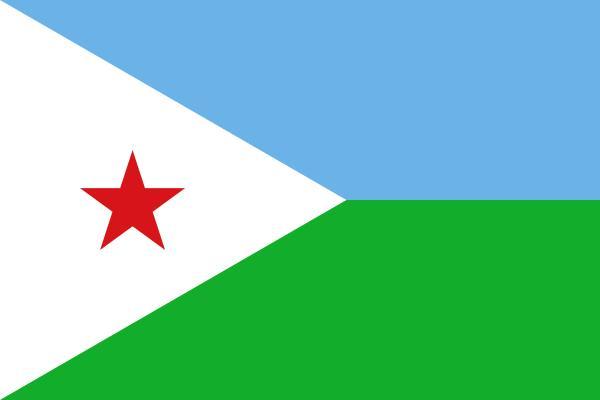 Drapeau  de Djibouti